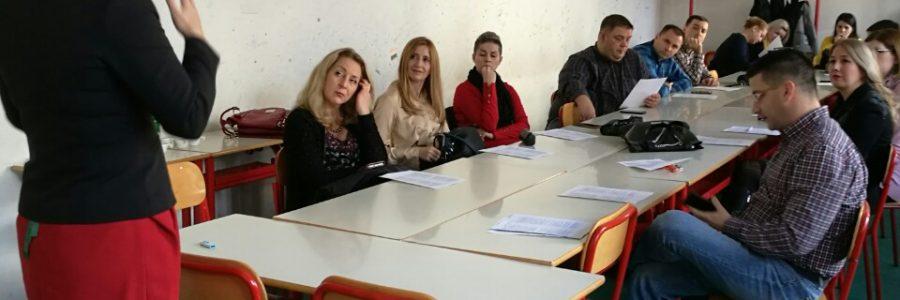TRAININGS IN BOSNIA AND HERZEGOVINA